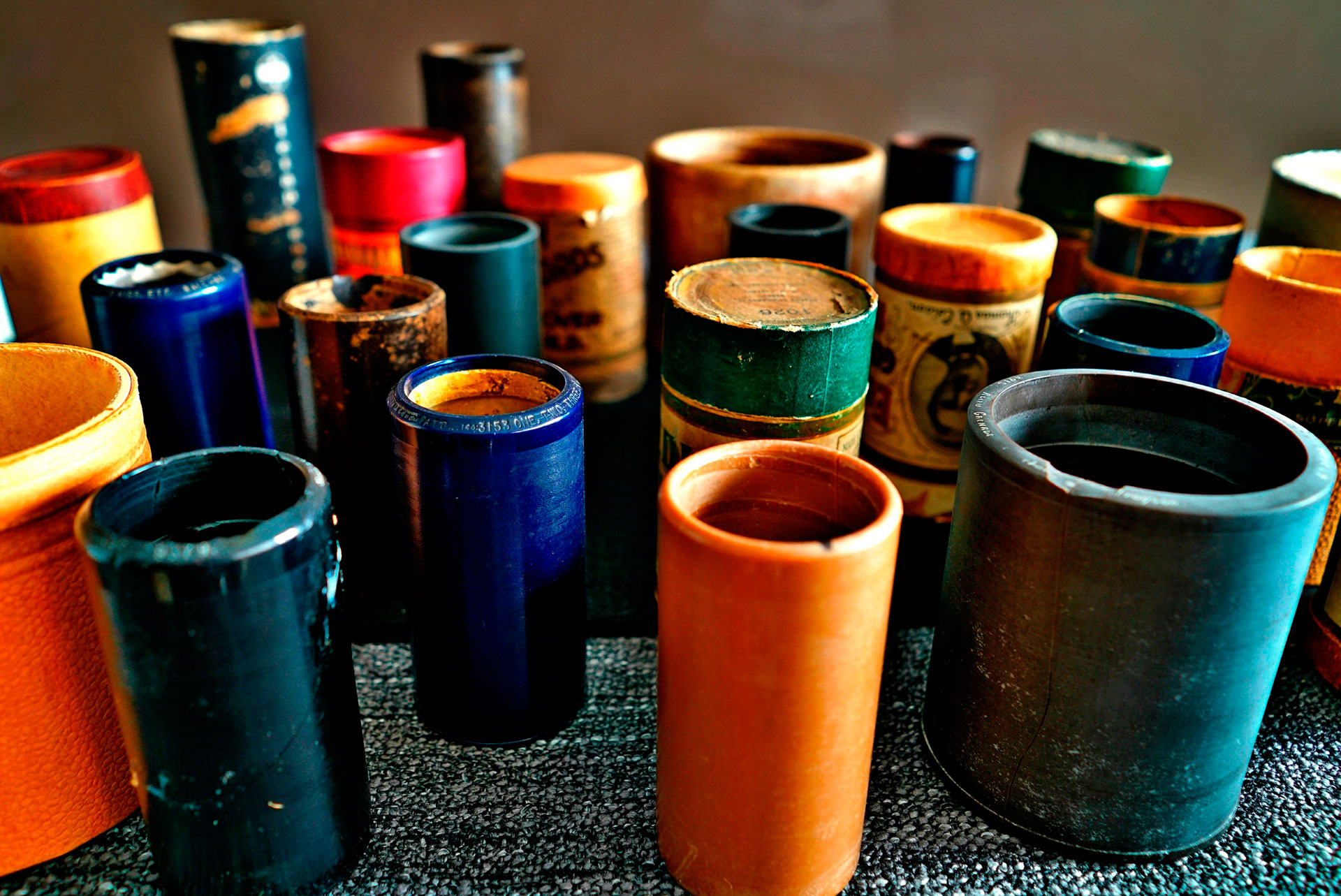 Cilindros de cera a digital, wax cylinders to digital,