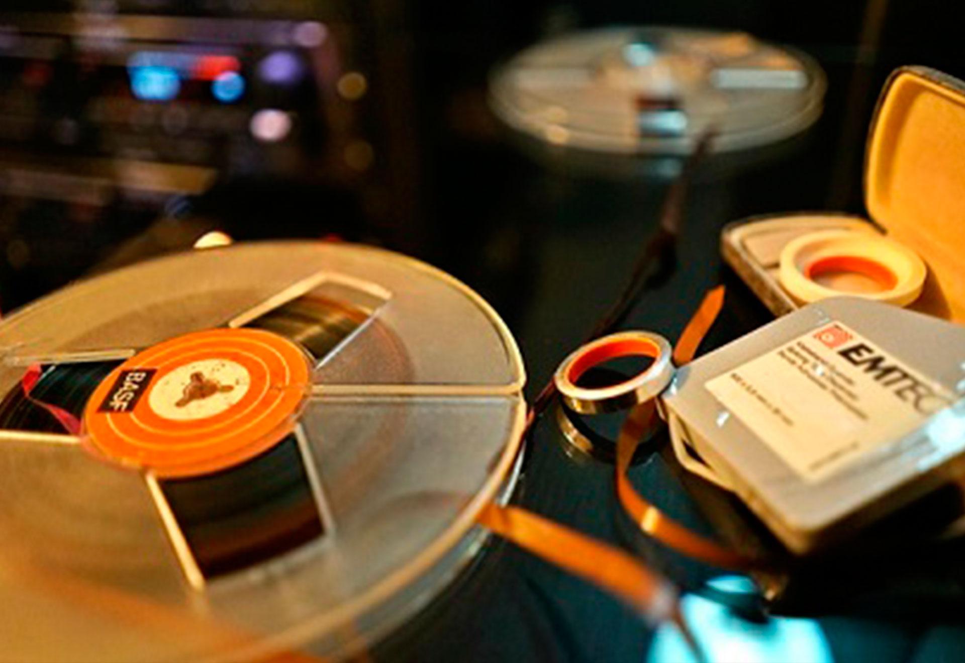 Reparación de bobinas de audio, open reel repairment
