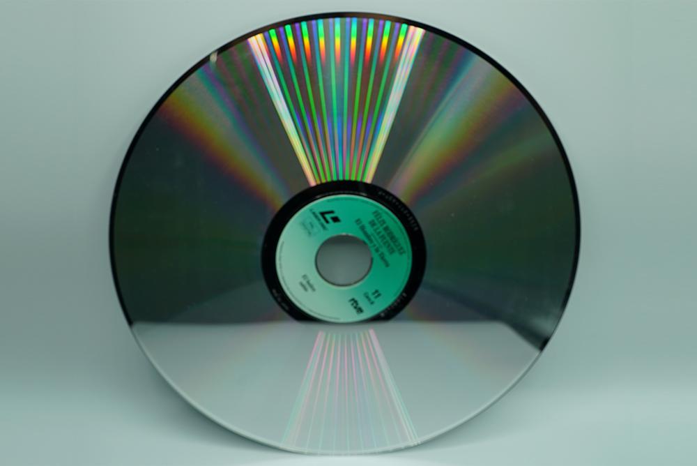 laser disc transfer to digital